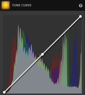Time-Lapse Video Tone Curve Effect Settings