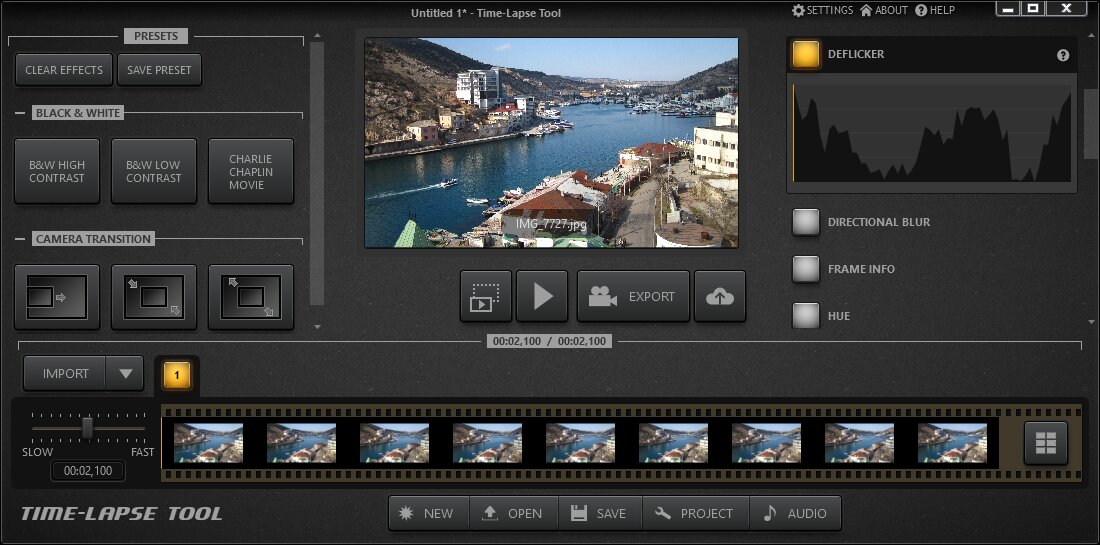 Make a Time Lapse Video from Photos in a Few Clicks!
