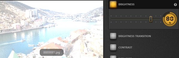 Time-Lapse Tool Brightness Effect