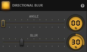 Time-Lapse Tool Directional Blur Effect Settings