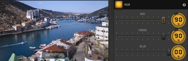 Time-Lapse Tool RGB Effect