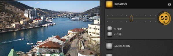 Time-Lapse Tool Rotation Effect