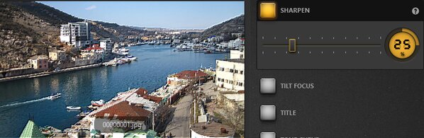 Time-Lapse Tool Sharpen Effect